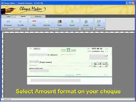 number design maker cheque maker create cheque template within 5 min برنامج