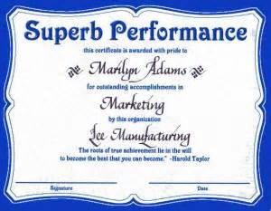 top performer award templates award certificate quotes quotesgram
