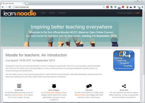 moodle theme upload give your moodle 2 5 site a mooc makeover with the learn