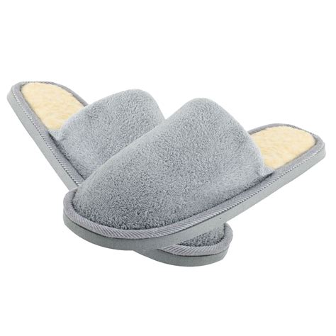 warm slippers wholesale 5 gray fleeces soft warm slippers for uk 8 5