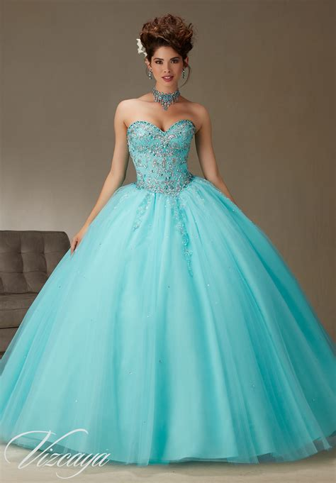 Quinceanera Dresses by Beading Quinceanera Dress Style 89062 Morilee