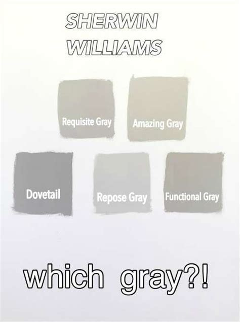 best exterior gray paint colors sherwin williams sherwin williams gray versus greige