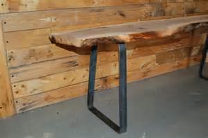 Hairpin Leg Bench Custom Order For Danny Grunes Bench Legs In Raw Steel