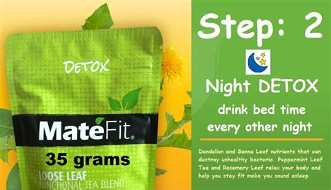 When Is The Detox Time In The by Teatox Step 2 Detox Tea Is Also Known As Time Tea