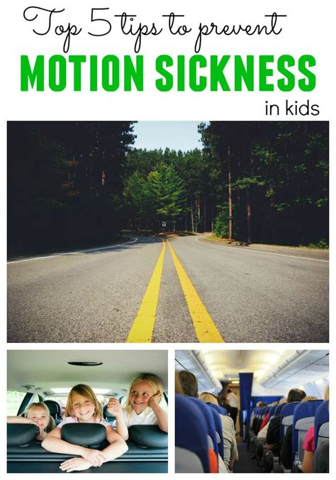 Ways To Prevent Motion Sickness by Top 5 Tips To Prevent Motion Sickness In Children When