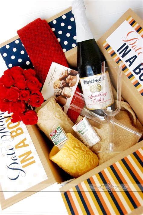 Dinner Gift Card Ideas - date night in a box