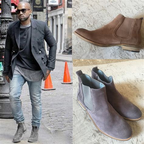 Best Slip On Yezzy Merah kanye west chelsea boots