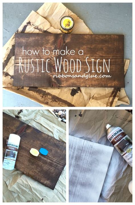 how to make a board how to make a plain wood board look rustic stains