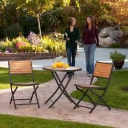 Lifetime Bistro Table Lifetime 3 Folding Patio Bistro Set 60074u The Home Depot