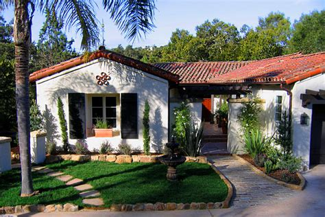 small house in spanish charming spanish revival home in montecito california