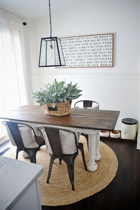 dining room farmhouse table with metal chairs folding new rustic metal and wood dining chairs farmhouse table