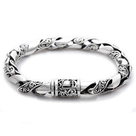 Bracelet homme argent torsade motif celtique   BijouxStore   webid:390