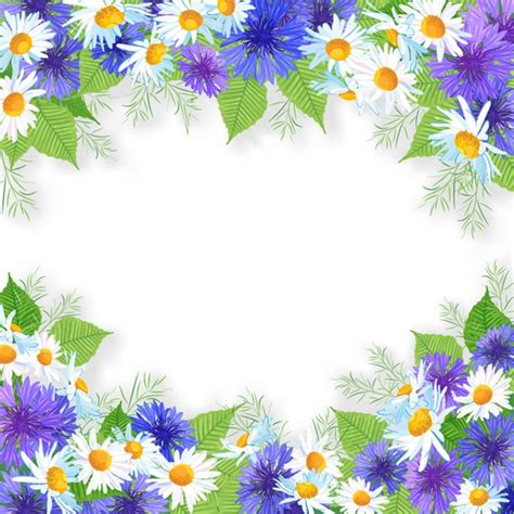 Bingkai Frame Around The World Poster flowers daisies graphics collection my free photoshop