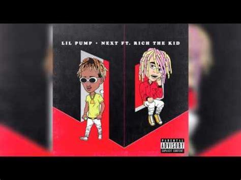 lil pump next lil pump x rich the kid next audio lyrics youtube