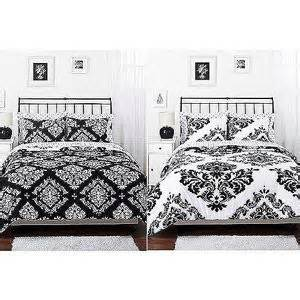 classic noir reversible comforter set a well last night and damask bedding on pinterest