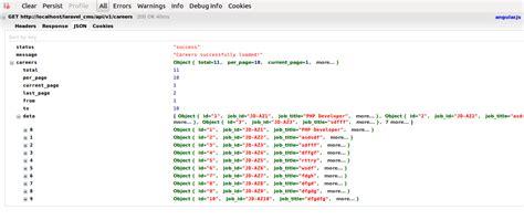 laravel json tutorial laravel return json response phpsourcecode net