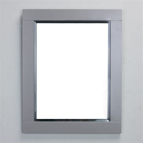 Gray Bathroom Mirror Contemporary 30 Inch Grey Finish Bathroom Vanity Marble Countertop