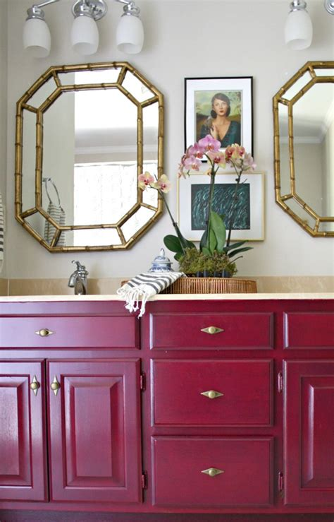 how to paint a wood bathroom vanity bathroom archives emily a clark