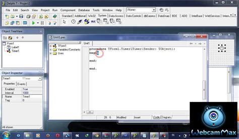 cara membuat jam digital di netbeans 11 video cara membuat jam digital di delphi 7 youtube