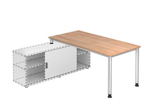schreibtisch shop schreibtisch h serie mit sideboard 1758 office shop
