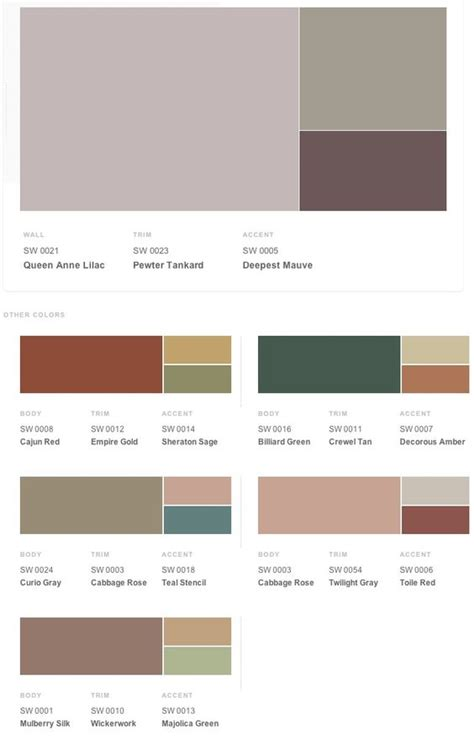 historical shades of interior paint colors from sherwin williams paint colors