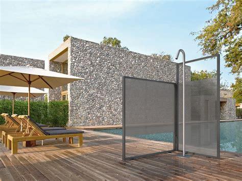 doccia esterna doccia esterna in alluminio unica by vismaravetro design