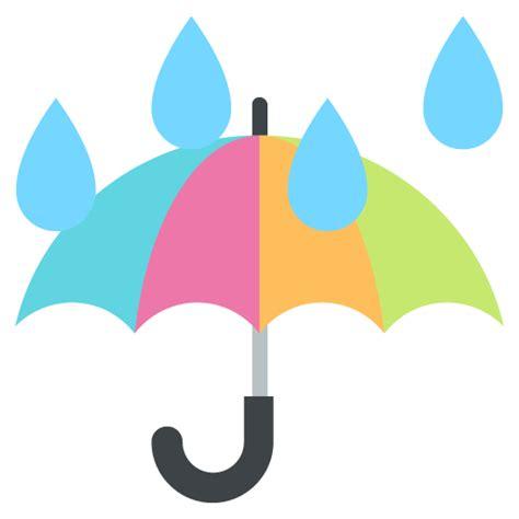 raincoat with umbrella umbrella emoji for email sms id 12534 emoji co uk