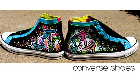 colorful converse mynameingraffiti 187 shoes colorful converse