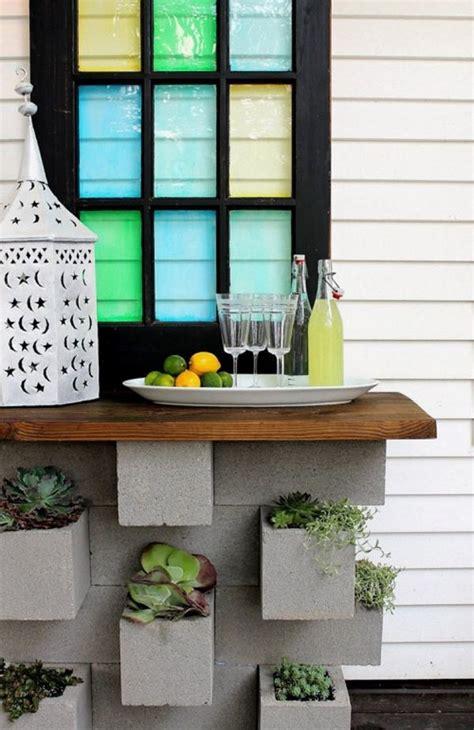 cinder block garden ideas furniture planters walls