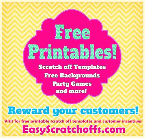 free scratch card templates free printables print your own scratch cards