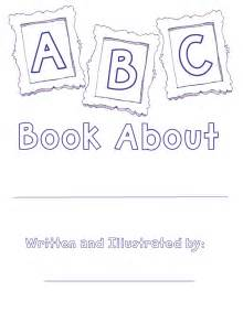 Printable Alphabet Book Template coloring pages the lesson cloud alphabet book template