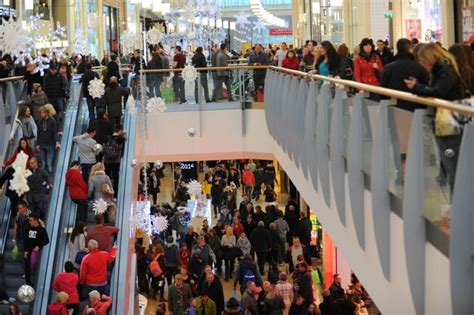 shopping frenzy sets tills ringing for retailers wales