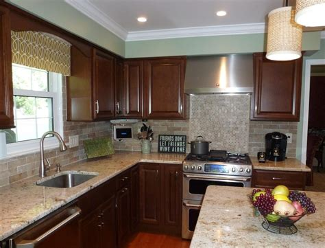 faux brick backsplash kitchen contemporary with brick