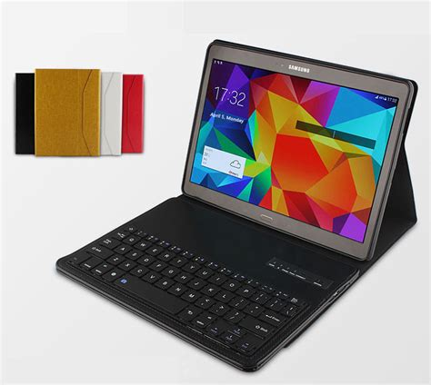 Casing Housing Samsung Galaxy Tab S 10 5 T805 Original leather removable keyboard with cases for samsung galaxy
