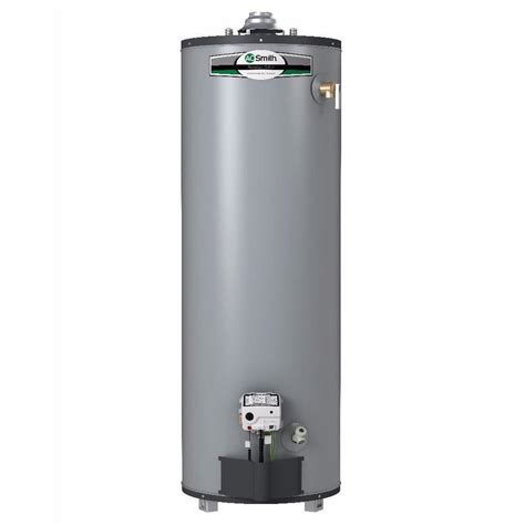 Shop A.O. Smith Signature Select 40 Gallon Tall 9 year Limited 40000 BTU Natural Gas Water