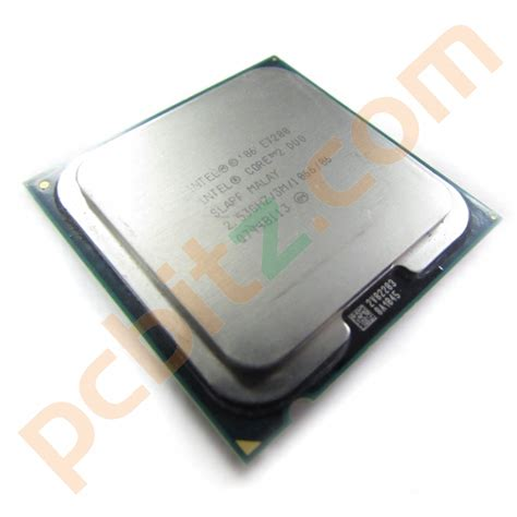 intel 2 duo e7200 slapf 2 53ghz 3m 1066 socket lga775