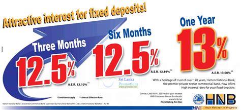 Letter Of Credit Charges In Sri Lanka Hnb 8 Jun 2012 187 Hnb Bank Fixed Deposit Rates 8 Jun 2012 Sri Lanka Promotions