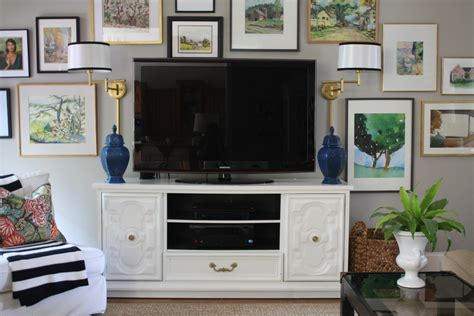 dresser in living room using a dresser as our tv console emily a clark