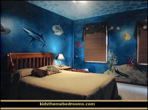 ocean themed bedroom decor decorating theme bedrooms maries manor underwater