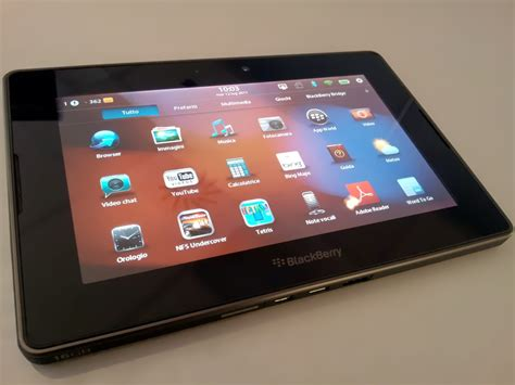 Tablet Blackberry blackberry confirms the playbook 2 will be developed e reader