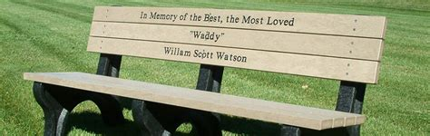 memorial park benches finding the perfect memorial park bench occ outdoors blog