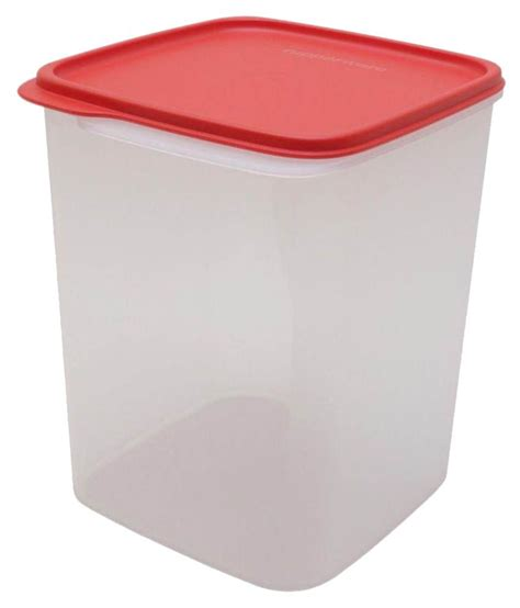 Tupper Ware Smart Saver Square 1 11l tupperware square smart saver 5 4 ltr polyproplene food container set of 1 buy at best