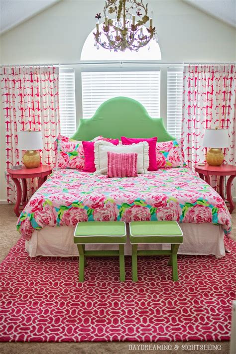 lilly pulitzer inspired bedroom daydreaming and sightseeing my colorful life