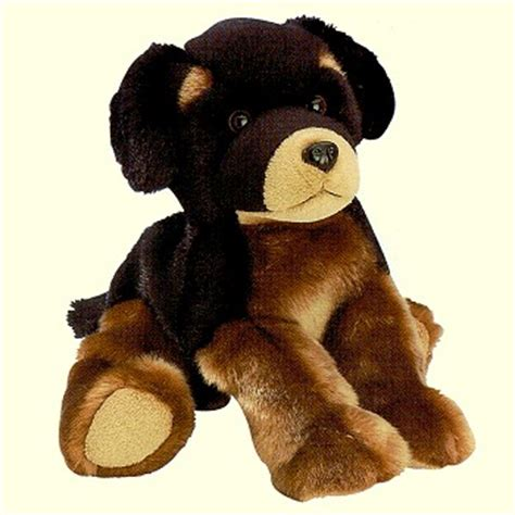 plush rottweiler stuffed plush rottweiler puppy from stuffed ark