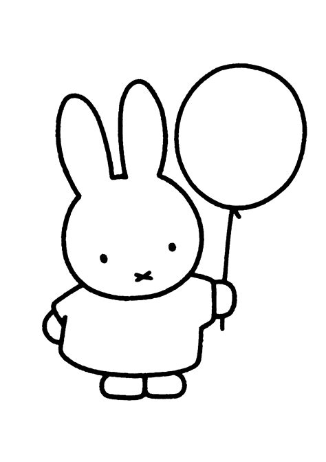 Miffy Coloring Pages miffy coloring pages coloringpages1001