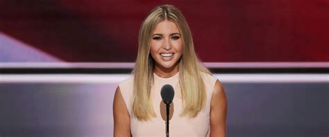 ivanka trump ivanka trump introduces her father donald at the rnc he