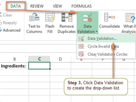 create drop down list in excel with color microsoft excel tips excel drop down list how to create edit and remove data