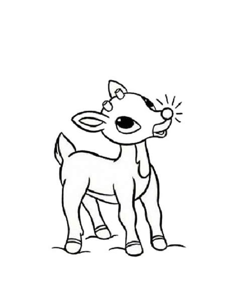 printable coloring pages rudolph the red nosed reindeer get this preschool rudolph coloring page to print 4abjz