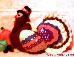 Handmade Turkey - handmade felt turkey thanksgiving photo 2819178 fanpop