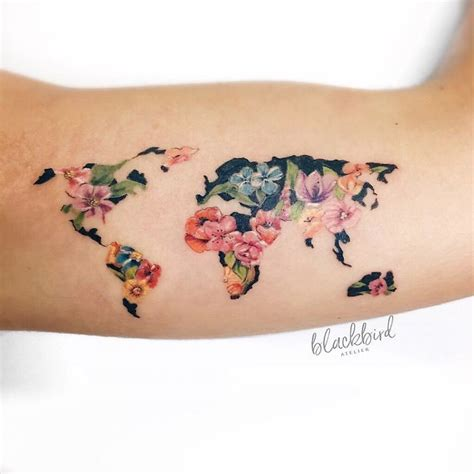 traveling tattoos 128 travel ideas that will make you want to pack